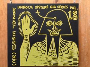 Higgs, Daniel – Unrock Instore Gig Series Vol. 18 CDr