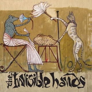 Invisible Hands - s/t CD (arabic version)