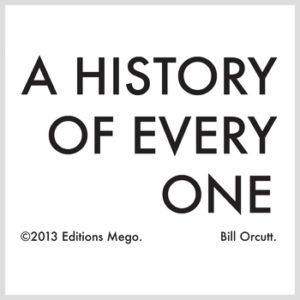 Orcutt, Bill - A History Of Every One LP